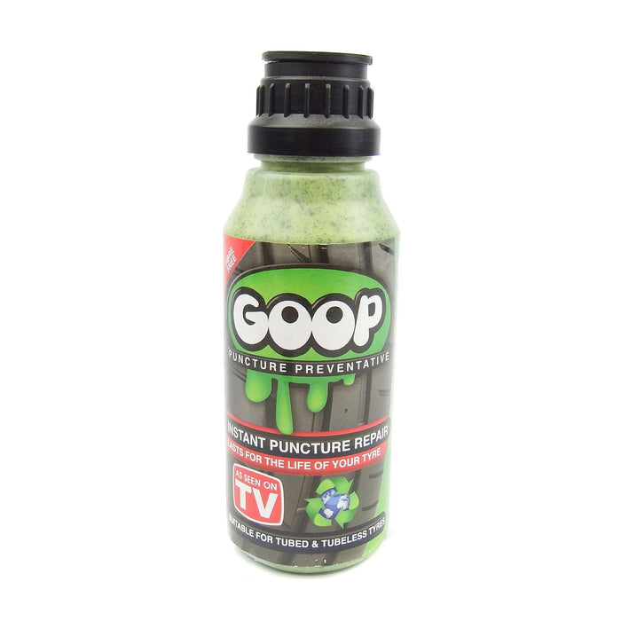 Tyre-Sealant - Prevents Punctures - Goop for Tube/Tubeless 250ML