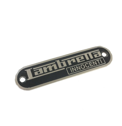 Lambretta Series 1 2 3 Li GP SX TV Lambretta INNOCENTI Seat Badge