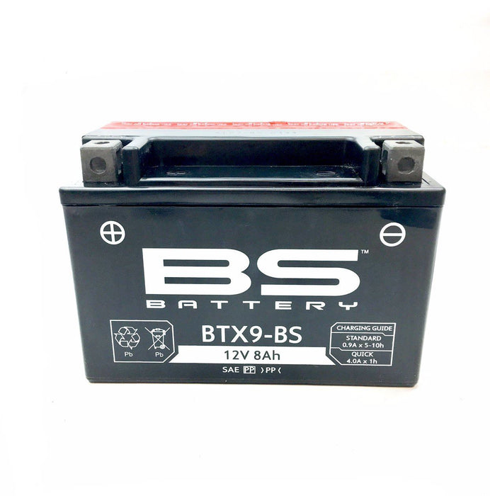 Battery - 12 V - YTX9-BS / CTX9-BS - Easy Fill Acid Pack