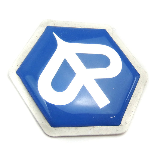 Badge - Horncover Badge Hexagon Shaped - Smooth Resin 27mm