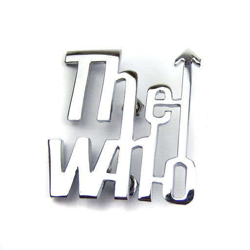 Badge - Leg shield - The Who - Chrome