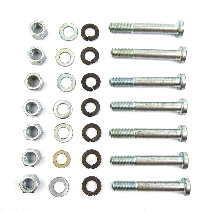 Vespa Engine Case Partial D Bolts, Nuts, & Washers Kit PX, Rally Genuine