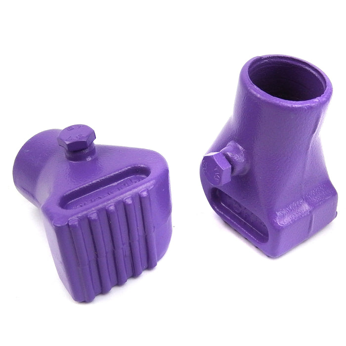 Vespa - Centre Stand - Feet Metal - 22mm - Squared - Purple