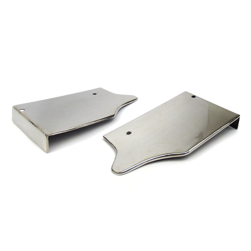 Lambretta - Rear Runner Boards - Cut Off - Pressed - Stainless