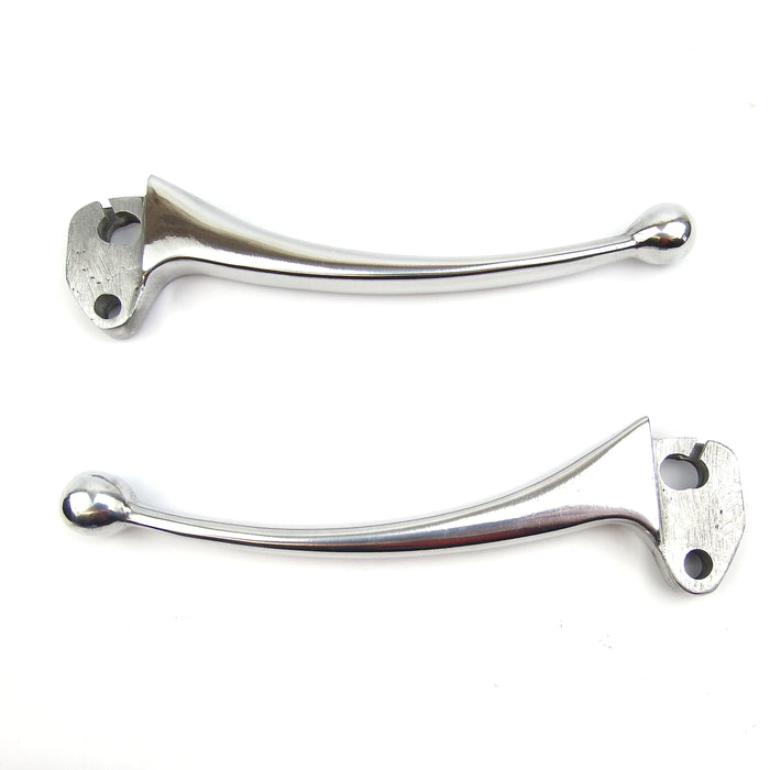 Lambretta - Levers - Ball Ended - Chrome - Series 2