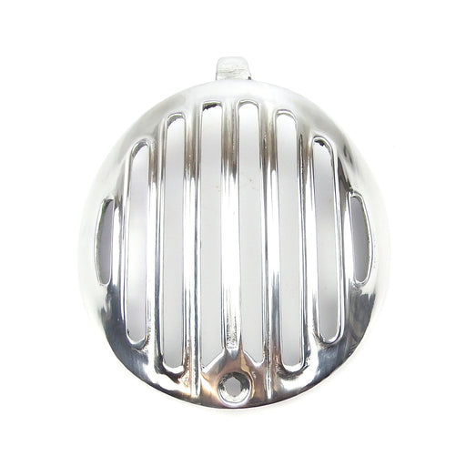 Lambretta - Horncover Grill - Series 2  Early - Polished Alloy