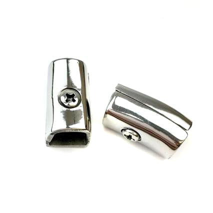 Lambretta - Leg Shield Rubber - Lower Clamp - Li SX - Pair