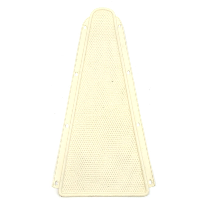 Vespa - Bridge Piece Centre Rubber Mat - Rally/Super - Old English White/Cream