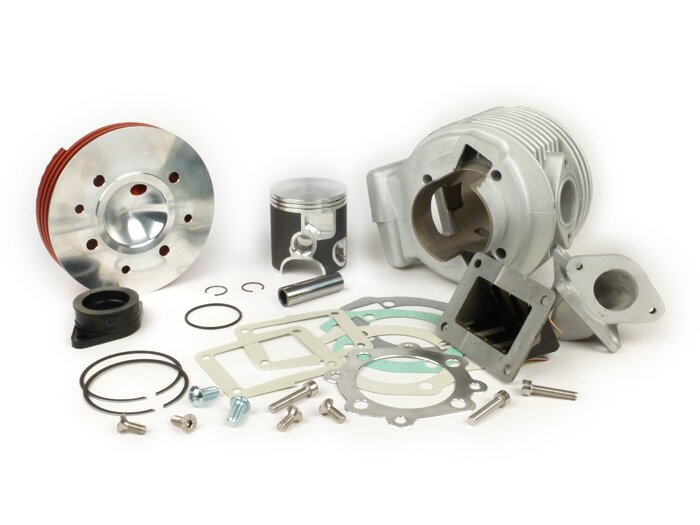 Lambretta Li GP SX TV 125 150 175 Casa Performance SS200 X6 200cc Small Block Racing Cylinder Kit