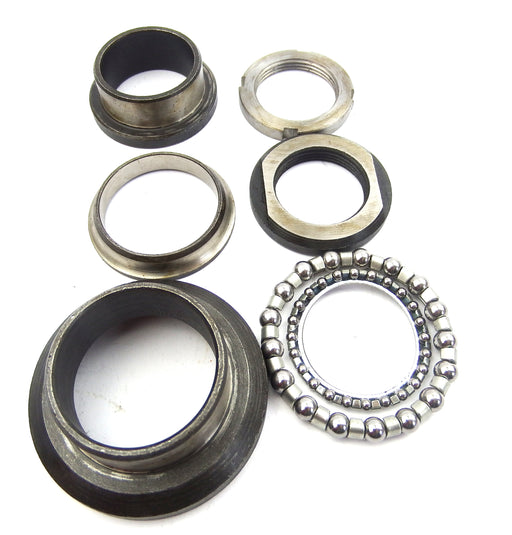 Lambretta - Bearings - Steering Bearing Full Kit, Chrome Ring TV
