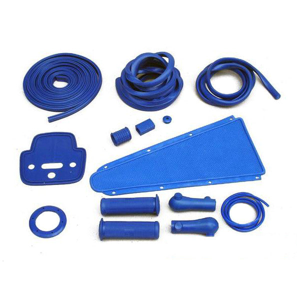 Vespa - Rubber Set - VLB/Sprint/Rally/Super - Blue