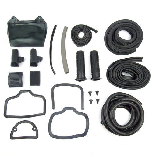 Lambretta - Rubber Kit - LI Ser.1/2 - Black