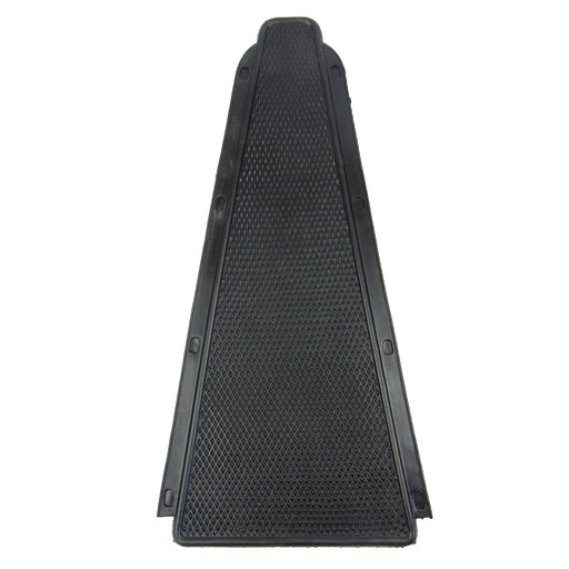 Vespa - Bridge Piece Centre Rubber Mat - Rally/Super - Black