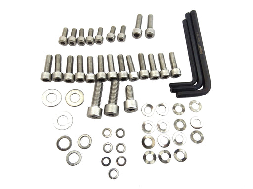 Lambretta Fixing Kit Engine & Cowling Allen Key Kit Stainless Steel