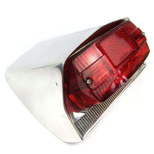 Lambretta - Lamp - Rear Light Unit - Li/SX - Polished Alloy
