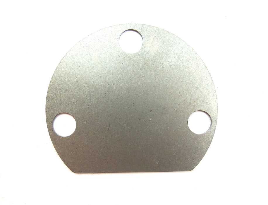 Vespa PX PE T5 LML 2T 4T Electric Start Hole Cover Blanking Plate in Stainless Steel