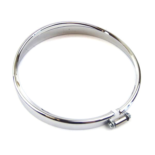 Vespa - Headlight Rim - V50s, V90, V100  - Chrome