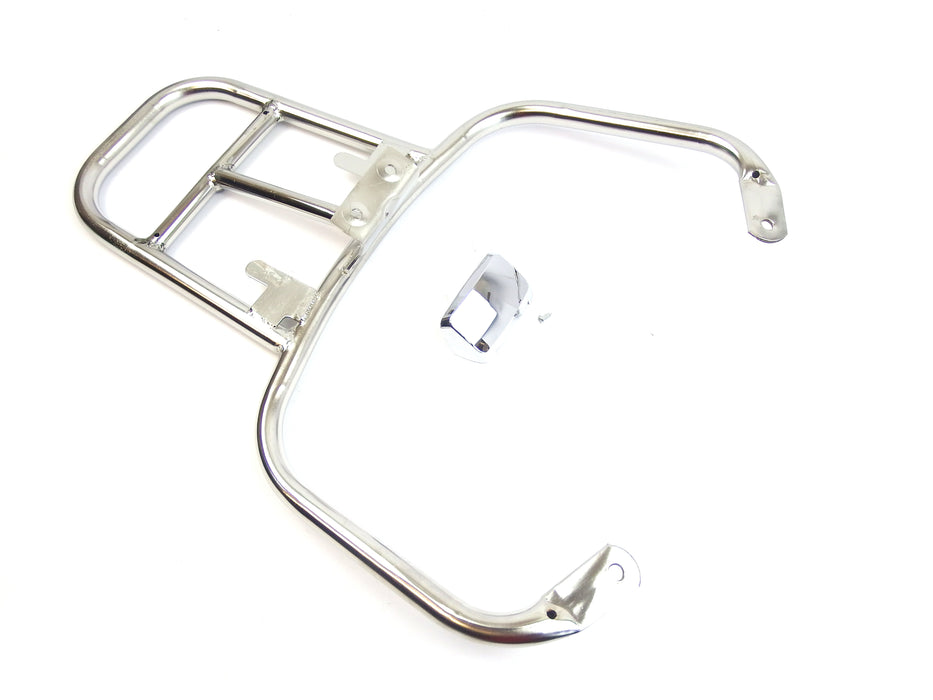 Carrier Rear Top Box Holder Stainless GTS, GTV