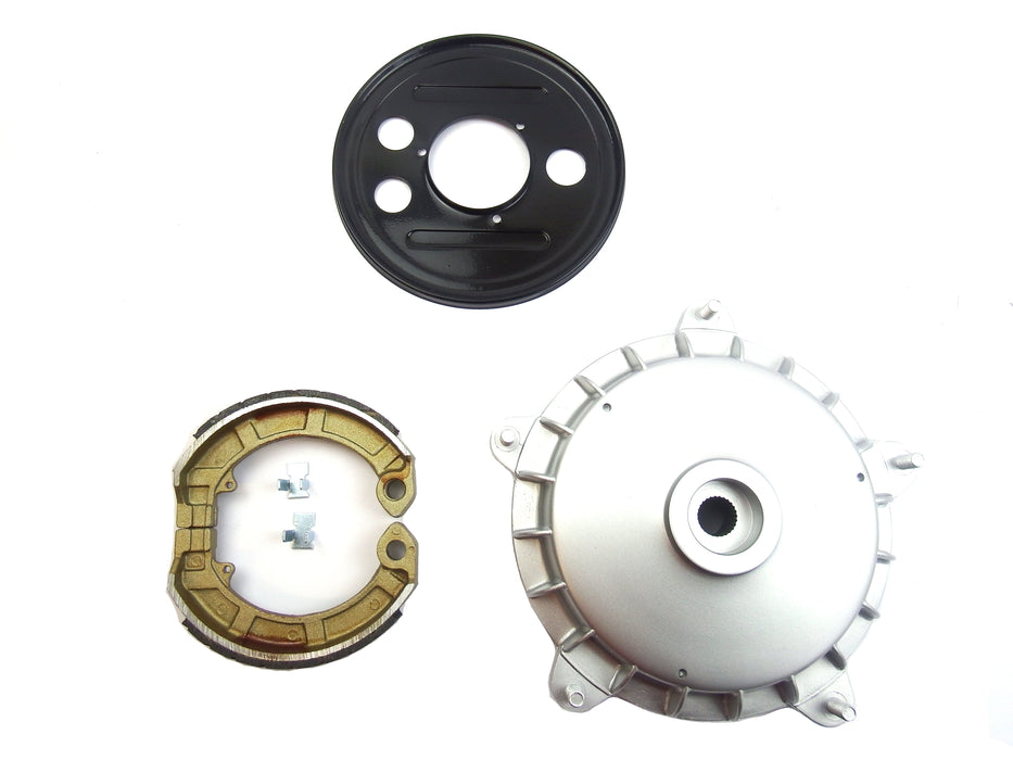 "Vespa Rear Hub 8"" to 10"" Wheel Conversion Kit Old Vespa"