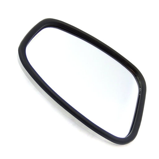 Mirror - Universal - Chrome Mirror Head Stadium Shape -BlackEdge
