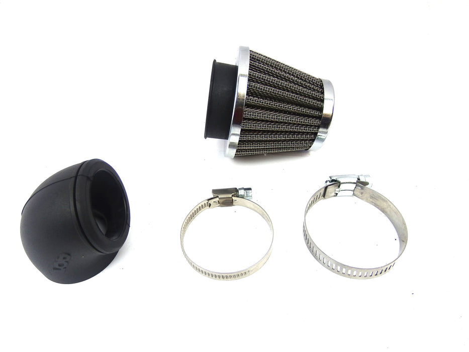 Air Filter K&N Style DR 42mm 90 Degree Angle or Straight