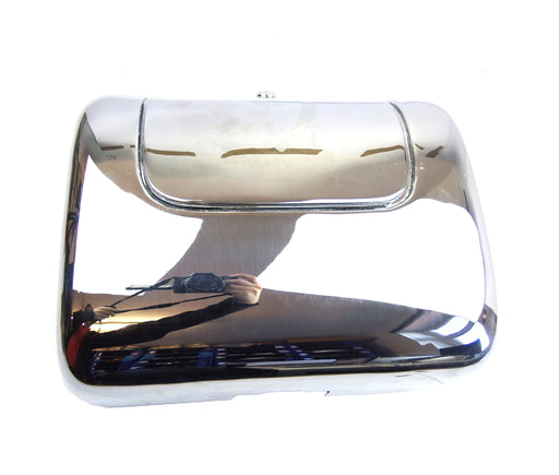 Lambretta Series 2 Li TV Chrome Inside Leg Shield Tool Box - Rally Style