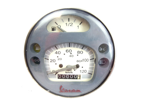 Vespa LML PX MY Style Speedometer 120KMH/80mph with Low Fuel Gauge Indicator