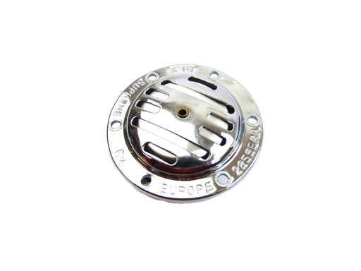 Vespa - Horn - V50, Primavera, Super, Sprint ( 6V AC ) - Chrome - Rear Terminals
