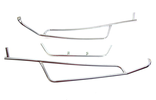 Crash Bar Rear Cuppini Vespa GTS, GTV Chrome