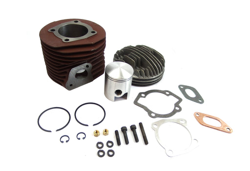 Lambretta Barrel, Piston & Head 175cc Kit Iron Cylinder