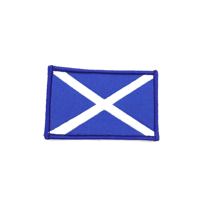 Scotland Flag Patch 8cm x 5cm