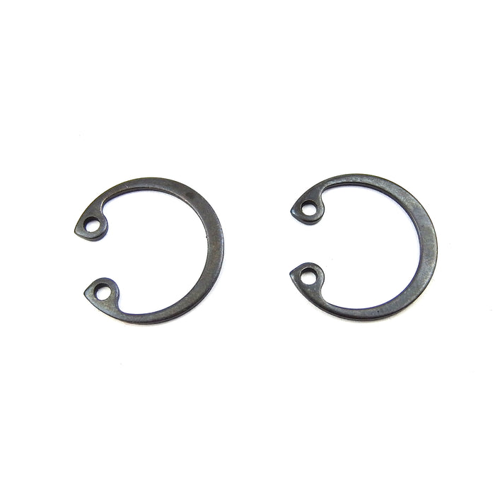 Vespa P200, T5, Rally 200, SS180 pair of Piston Circlips