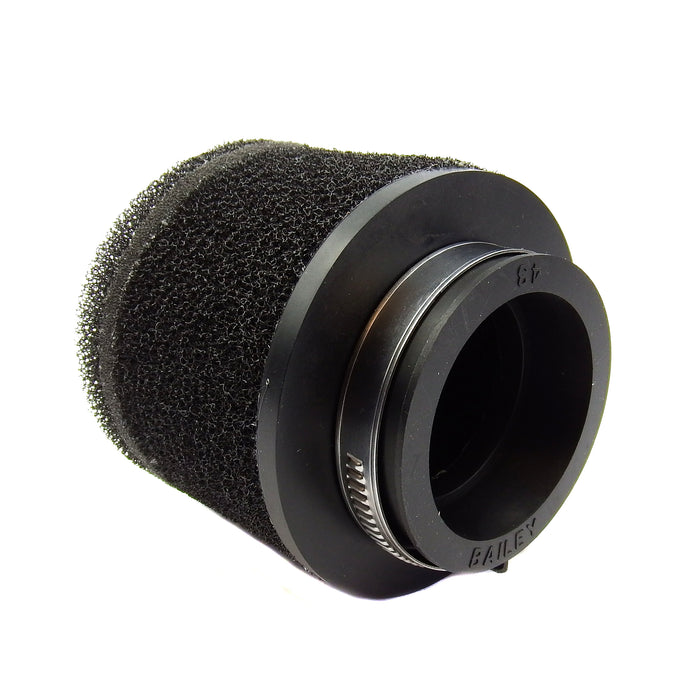 Straight Ram Air Sponge 43mm for air filter