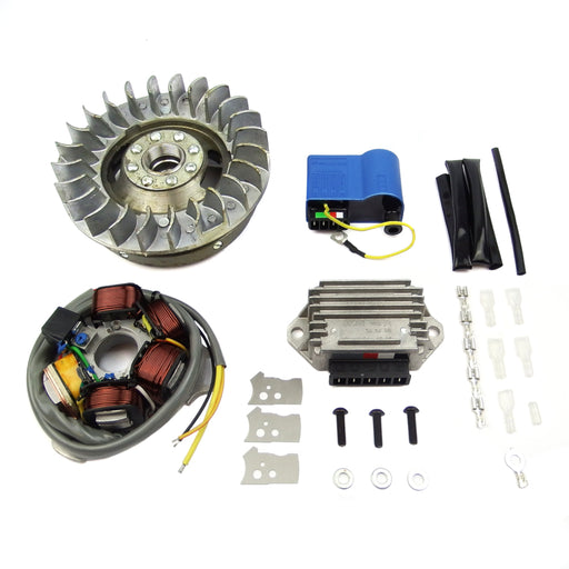 Lambretta Electronic Kit Li Ducati, BGM, Extra Light Flywheel