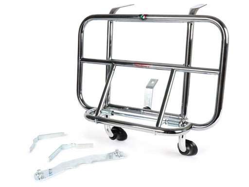 Vespa ET2 ET4 Chrome Front Carrier
