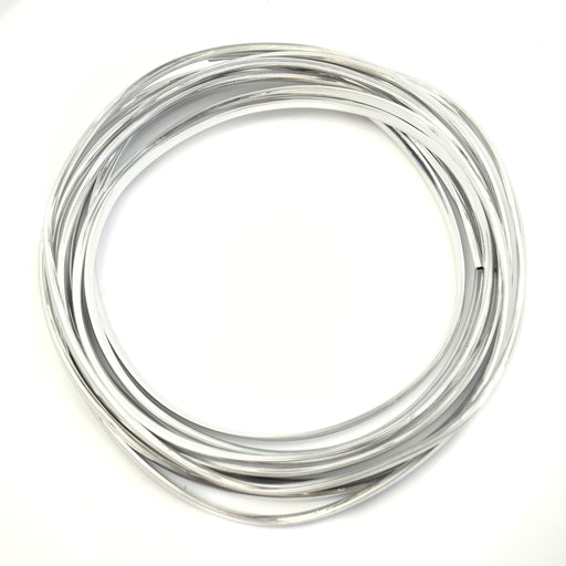 Edging Rubber - 5 Metre - Chrome