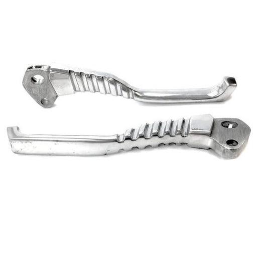 Lambretta - Levers - Dog Legs - Polished Alloy - Pair