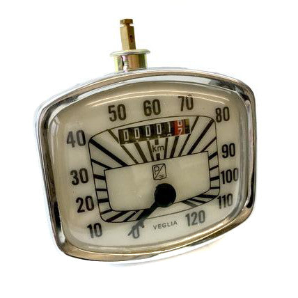 Vespa - Speedometer - GS 150 - 120KMH - Cream Face