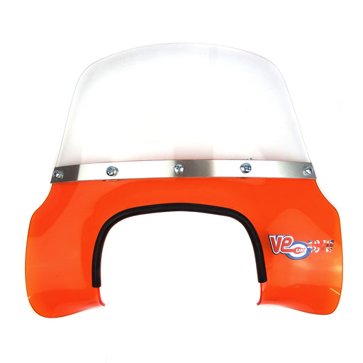 Lambretta - Flyscreen - MOD Style - GP - Transparent Orange
