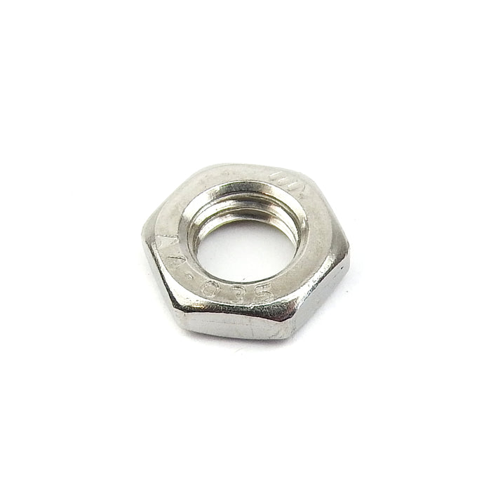 Lambretta Disc Hub Static Pad Locking Nut in Stainless