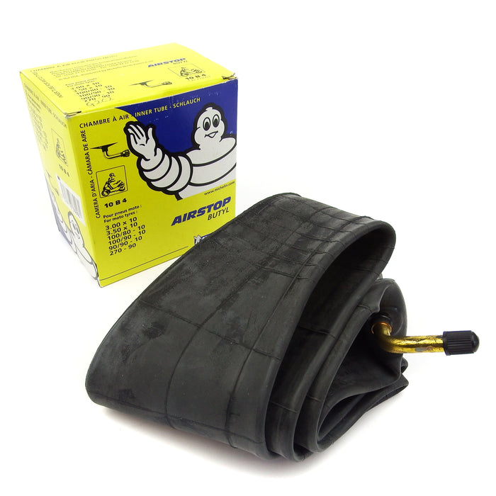 Inner Tube  AIRSTOP 90 degree valve 300/350 X 10 - Beedspeed, Scooter Parts & Accessories For Lambretta, Vespa & More
