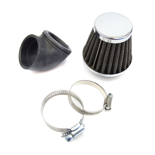 Air Filter K&N Style DR 42mm Straight Connection