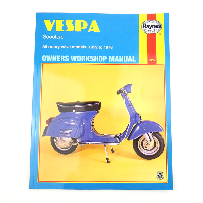 Manual - Haynes V50 / V90 / V100 / PRIM / L2 / GL / Rally Manual - Beedspeed, Scooter Parts & Accessories For Lambretta, Vespa & More
