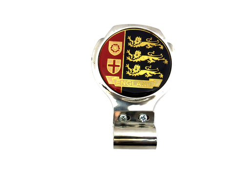 Bar Badge/Plaque - England 3 Lions - Stainless Steel