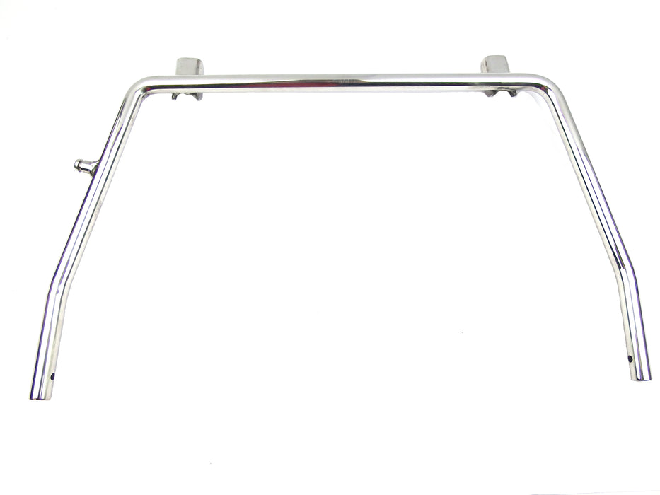 Lambretta Series 3 Li GP SX TV Centre Stand - Polished Stainless Steel