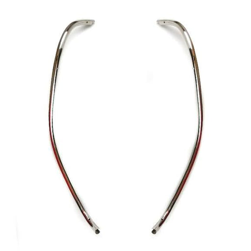 Lambretta - Leg Shield Beading - Stainless Steel - Series 3, Li, SX, GT