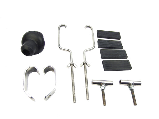 Front Carrier Replacement Fixings Full Kit - Polished Stainless Steel