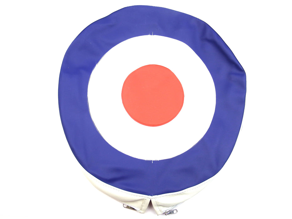 "Wheel - Spare Wheel Cover 10"" - MOD Target"