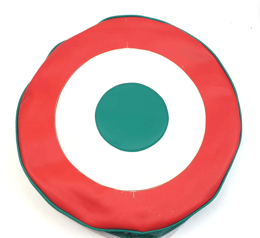 "Wheel - Spare Wheel Cover 10"" - MOD Target Italian Colours"