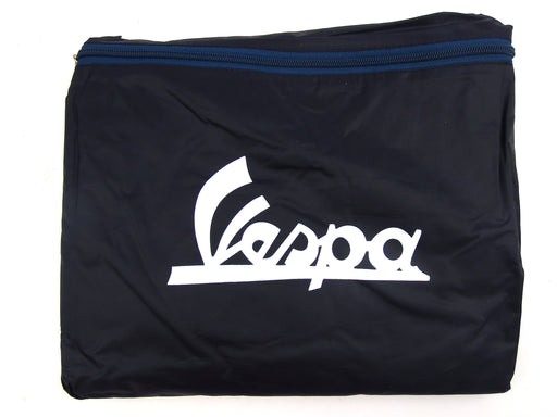 Scooter Cover - With Vespa Logo - Dark Blue